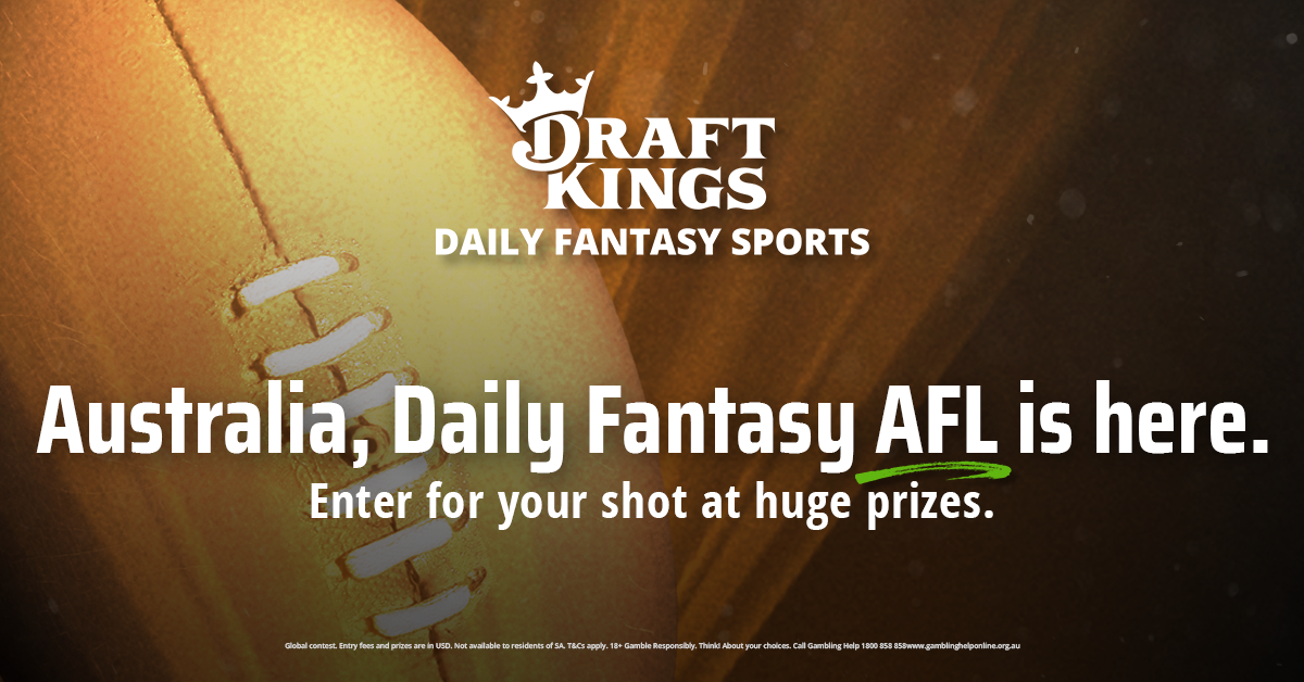 Aussie Rules Football now LIVE on DraftKings - Play AFL DFS