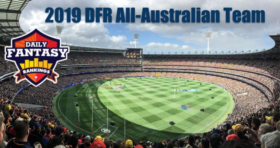 Presenting the 2019 All-Australian AFL DFS Team