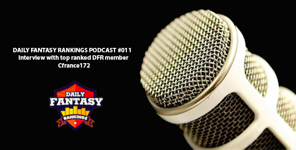 DAILY FANTASY RANKINGS PODCAST #011  - Spring Racing Carnival DFS Preview with Top-Ranked DFR Member Cfrance172