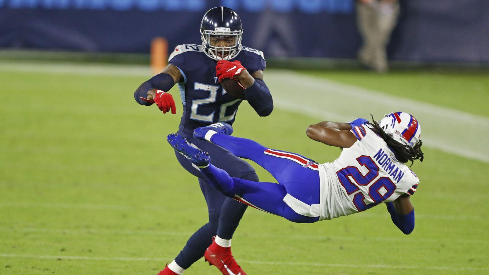NFL 2021-22 Daily Fantasy Tips: Titans v Bills