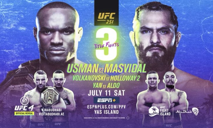 Fantasy MMA: UFC 251 Preview
