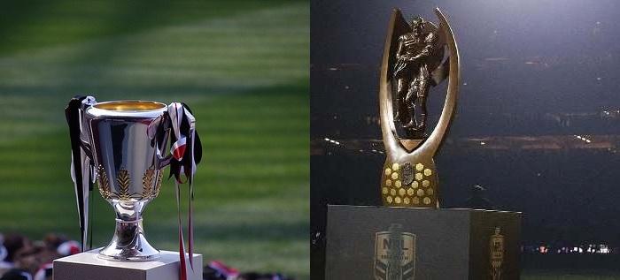 AFL & NRL Grand Final Contests offering huge cash prizes!
