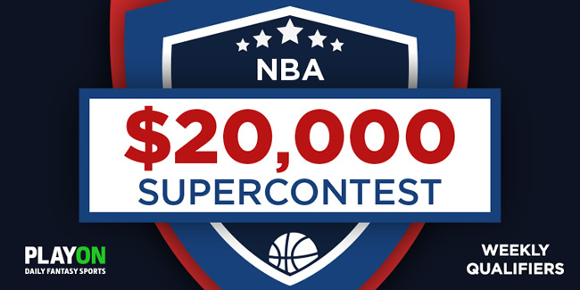 $20,000 NBA Super Contest at PlayON this Wednesday